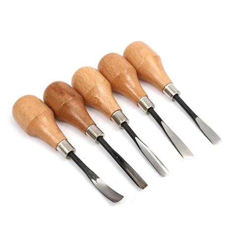 craft woodworking tools 5pcs set wood carving chisels set knife diy tools for