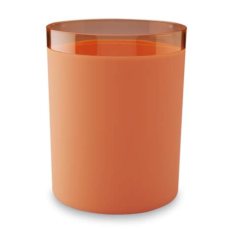 wastebaskets for bathrooms essential home round plastic waste basket home bed