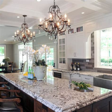 light colored granite are white or light granite countertops practical for kitchens