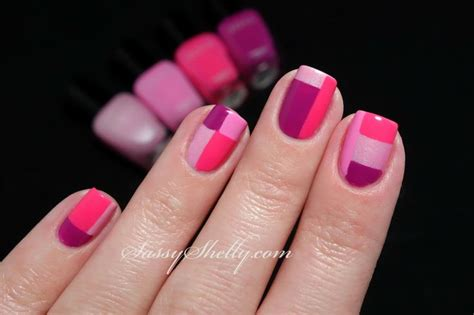 why one fingernail a different color monochrome manicures that don t require 9 different colors