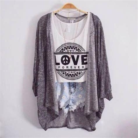 tumblr t shirt pattern cardigan hipster cardigen pattern top tank top