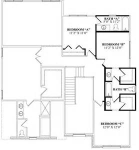 Jill bathroom optional second floor with private bath jack n jill