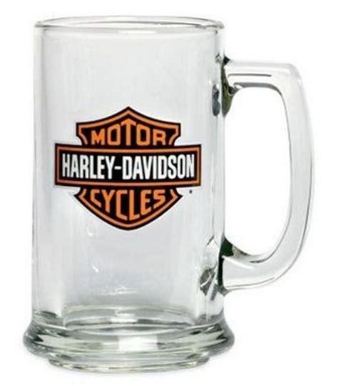 harley davidson barware harley davidson 174 bar shield logo mug 99308 07v harley