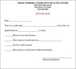 Dr Excuse Template by Doctors Excuse Template Cyberuse