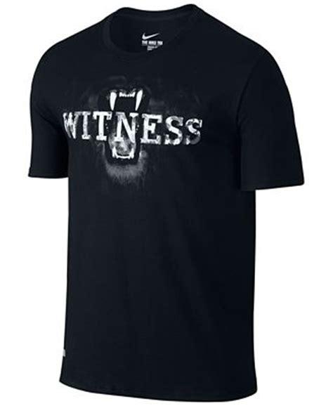 kaos shirt tshirt nike witness nike lebron witness graphic t shirt t shirts macy s
