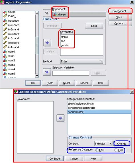 spss tutorial logistic regression 4 11 running a logistic regression model on spss