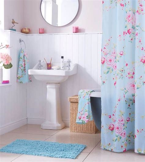 teal and pink bathroom best 20 floral shower curtains ideas on pinterest navy