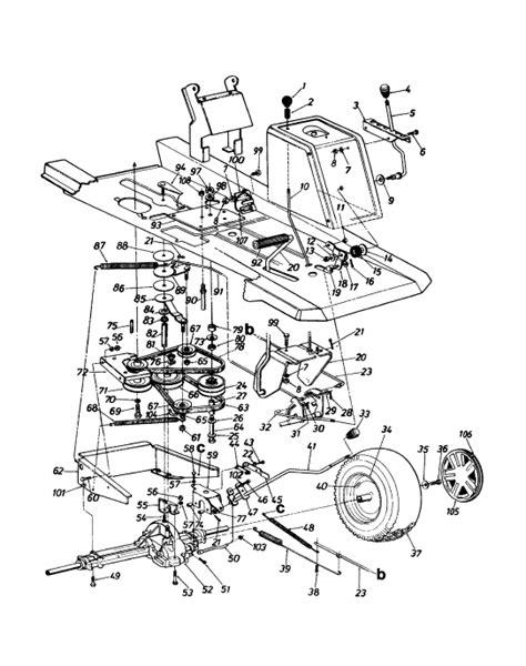 yardman mower belt diagram need belt diagram mtd model 13ab560b302