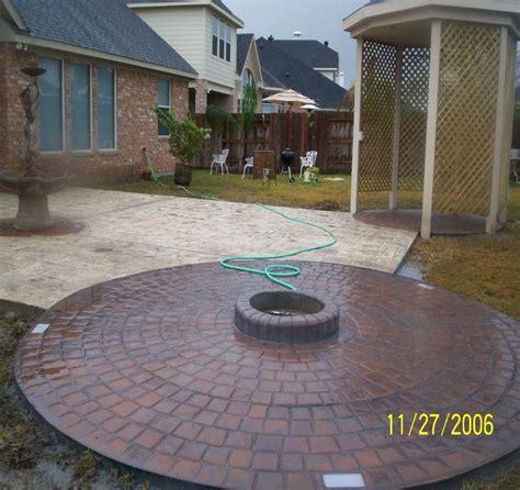 Houston Patios by Pictures For Houston Patio Deck Custom Concrete Patios