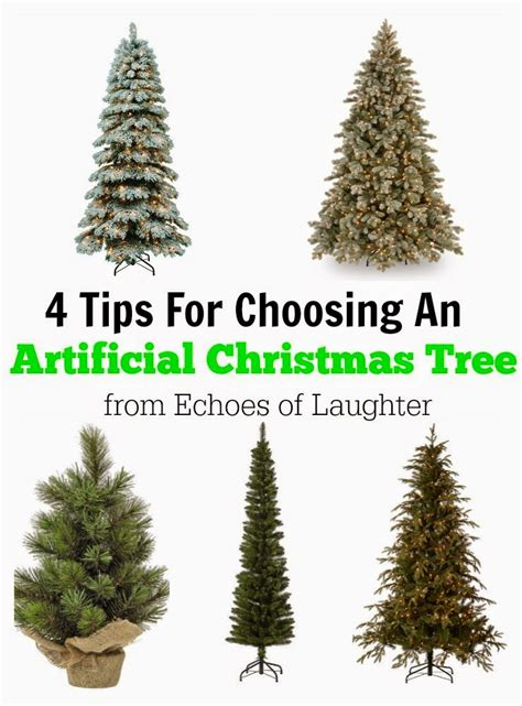 4 tips for choosing an artificial christmas tree echoes
