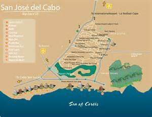 San Jose Del Cabo Map by San Jose Del Cabo Bcs Mexico Map