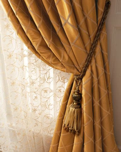 horchow curtains designer curtains sheer lace curtains at neiman marcus