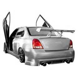 Hyundai Elantra 2002 Kit Duraflex 174 Hyundai Elantra 2001 2002 Fiberglass Kit
