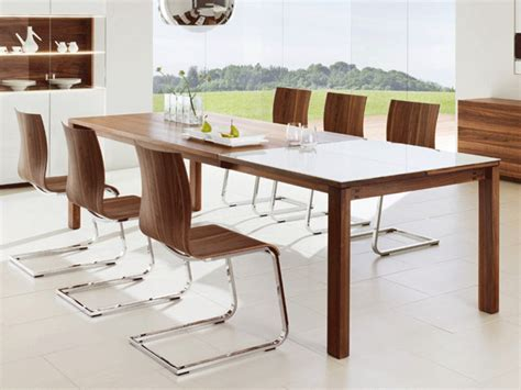 modern glass kitchen table modern kitchen tables for each style design and interier