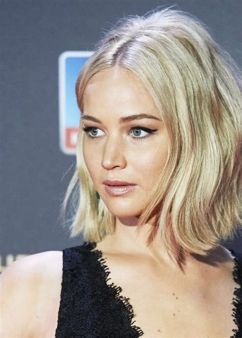 j laws short hair jennifer lawrence bobs and haar on pinterest