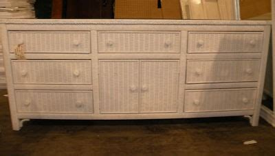 lexington wicker bedroom furniture lexington henry link wicker triple bedroom dresser set