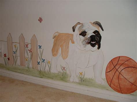 Dog Wall Murals baby room wall murals nursery wall murals for baby boys