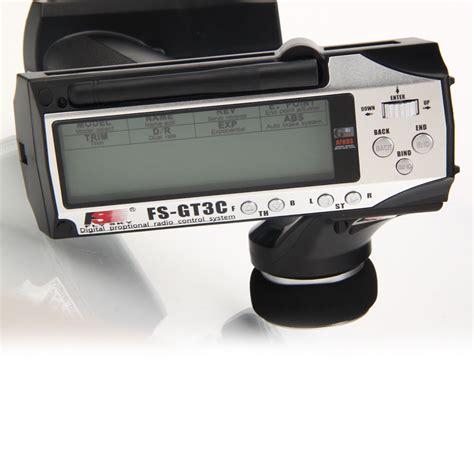 Flysky 3ch Fs Gt3c Transmitter Receiver flysky fs gt3c 2 4g 3ch transmitter receiver for rc car truck boat silver us ebay