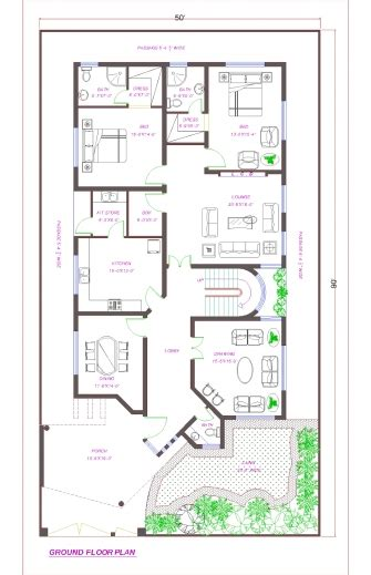cara duplex floor plans indian house design map 4801 25x60