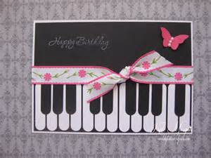 Handmade Piano - handmade piano card kate independent stin up