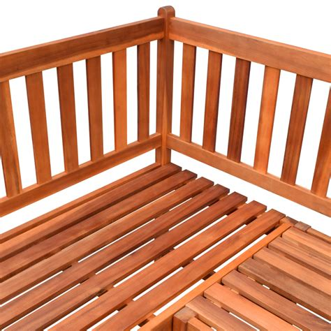 garden corner bench vidaxl co uk vidaxl garden corner bench acacia wood