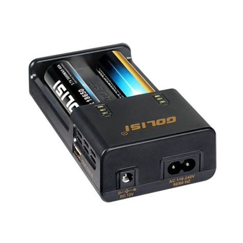 Adaptor Charger Li Ion Smart Charger 2 1a Tc golisi o2 intelligent fast smart battery charger for imr