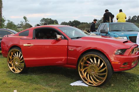 Wheel 6 150x10x10x254mm Gold Gt veltboy314 outrageous mustang gt on gold 30 quot amani
