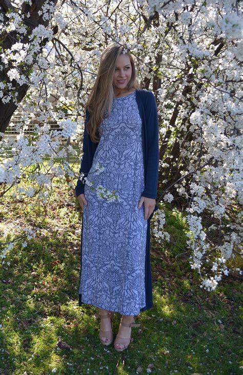 boat neck maxi dress pattern boat neck maxi dress women s blue grey floral long