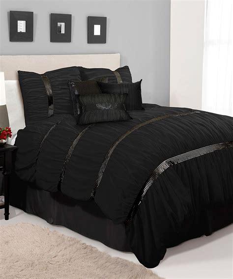 black glitter sky comforter set comforter sets black