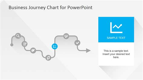 free templates for powerpoint journey flat business journey chart powerpoint template slidemodel
