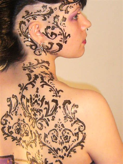 tattoo body paint exotic body painting lovetoknow party invitations ideas