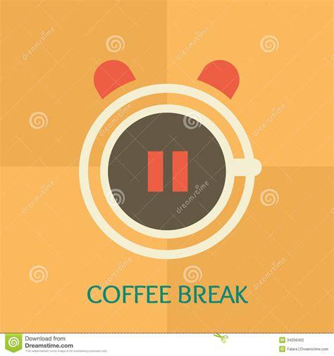 home design coffee break coffee break stock illustration image of business