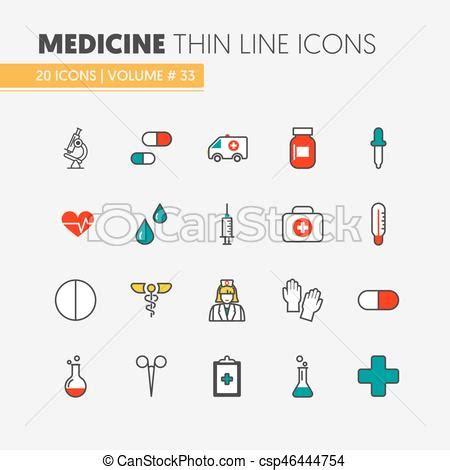 clip art de vectores de conjunto salud icono vector conjunto iconos m 233 dico vector salud delgado medicina