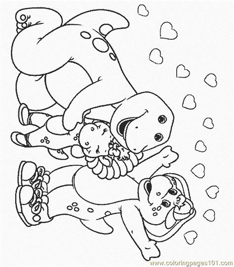 barney coloring pages pdf barney 29 coloring page free barney coloring pages