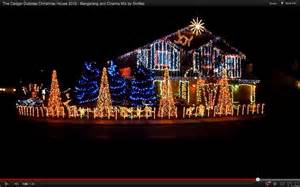 dubstep light show at cadger family home sets
