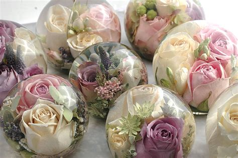 Wedding Bouquet Resin by Do This With Flowers And Resin For Favours And