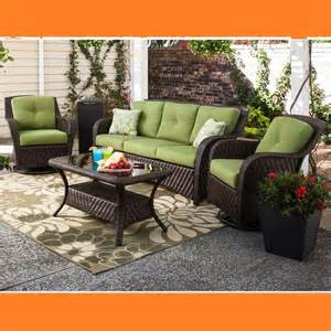 Wicker Deep Seating Patio Furniture by Outdoor Patio Wicker Deep Seating Furniture Set 4 Pc Sofa