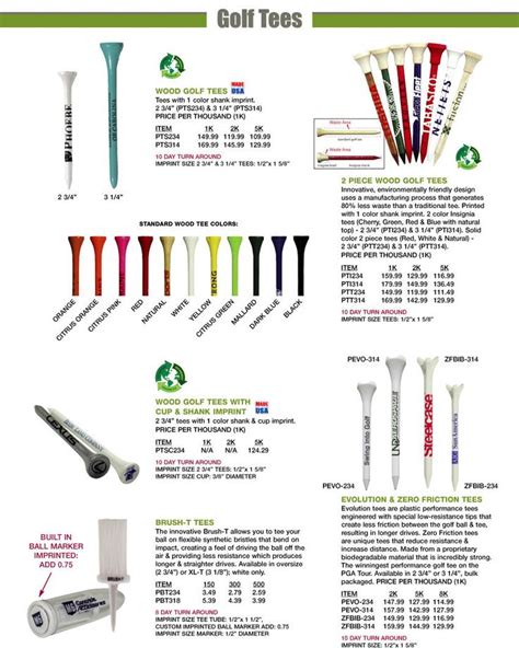 Custom Golf Giveaways - 14 best images about logo golf tees on pinterest ink color 4 h and golf tournament