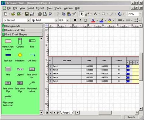 sle visio file table in visio 28 images automatically create process