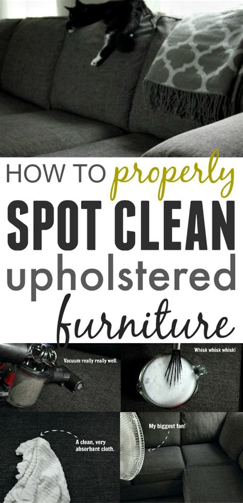 how to properly clean upholstered furniture the creek
