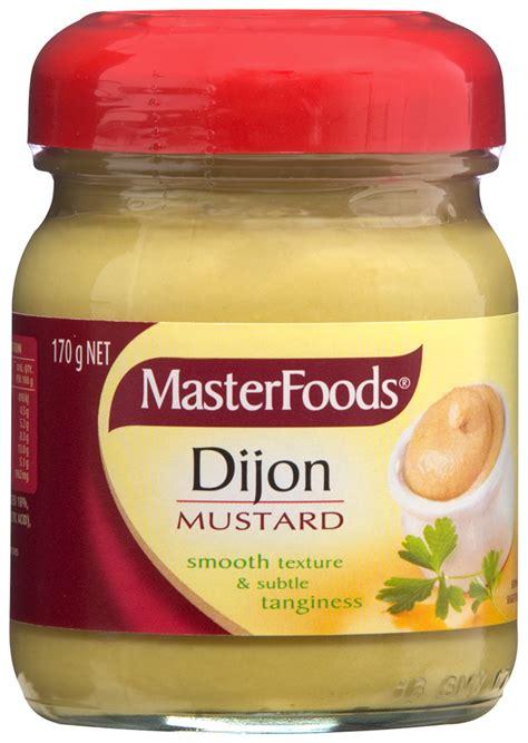 Masterfoods Wholegrain Mustard 1 dijon mustard mustards masterfoods