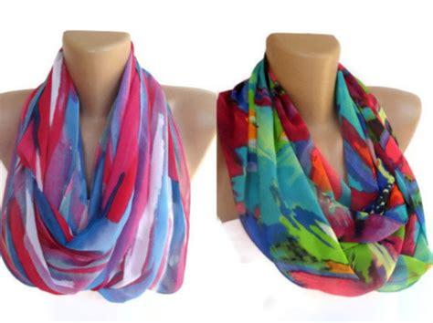 scarf infinity scarf eternity scarf loop scarf womens