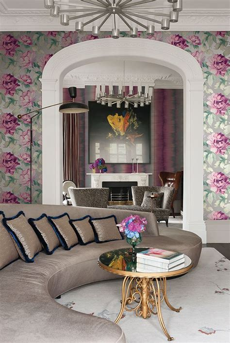 Ec Robinson Upholstery by 17 Best Images About Wallpaper Large Scale Floral On