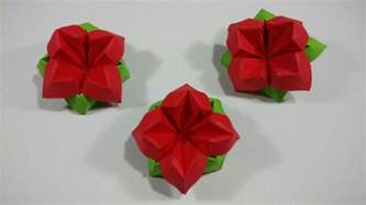 A4 Paper Origami Flower - origami best easy origami flower ideas on origami flowers