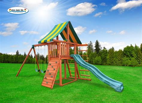 Gymoo Tunik Bb Slide 11 best dreamscape swing sets images on jungle wood swing and wooden swing sets