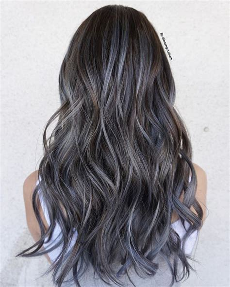 silver brown hair with highlights the 25 best brown with grey highlights ideas on pinterest