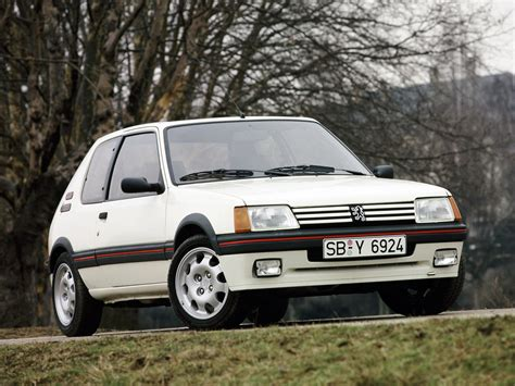peugeot 205 weight car profile peugeot 205 gti 30 year anniversary