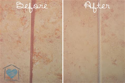Shower Grout Turning Orange by Change Your Grout Color Hometalk