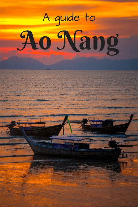 travel guide  ao nang thailand   freedom