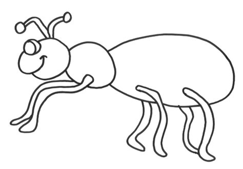 Coloring Pages Ant Ant Coloring Pages